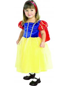 Rubies Cottage Princess Dress Toddler Costume, Blue Yellow, Toddler 2T