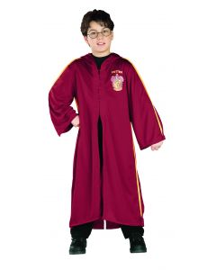 Rubies Harry Potter Gryffindor Quidditch Costume Wizard Robe, Burgundy
