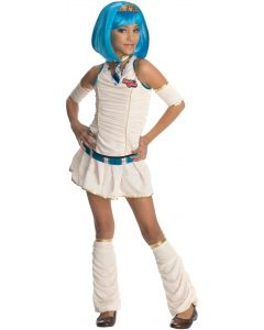 Rubies Drama Queens Mummy's Dearest 4pc Child Costume, White Blue, Small 4-6