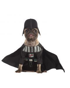 """Star Wars Darth Vader Episode IV Dog 3pc Pet Costume, Black, X-Large 20"""" Neck"""