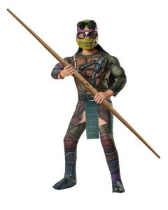 Teenage Mutant Ninja Turtles Movie Donatello 4pc Child Costume, Purple, S 4-6