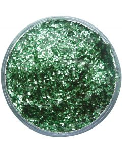 snazaroo Kids Makeup Effects Clam Shell 12ml Glitter Gel, Bright Green