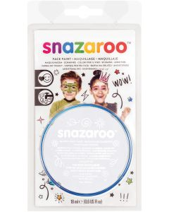 snazaroo Kids Makeup Clam Shell 18ml Water-Activated Makeup, White