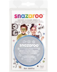 snazaroo Kids Makeup Clam Shell 18ml Water-Activated Makeup, Light Grey