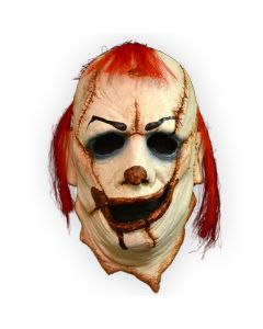 Trick or Treat Studios Skinner Clown Quality Face Mask, White Red Blue, One-Size