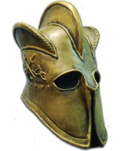 Game Of Thrones Mountain Helmet Full Head Mask, Gold, One-Size
