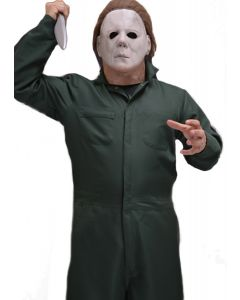 Trick or Treat Halloween II Michael Myers Jumpsuit Coveralls, Green, One-Size