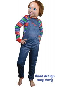 Trick or Treat Studios Child's Play 2 Good Guy Doll Chucky Men Costume, One-Size