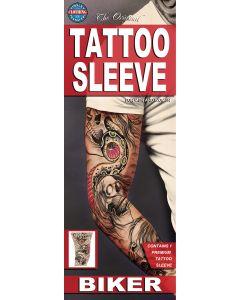 Tinsley Transfers Biker Tattoo FX Sleeve, Small/Medium