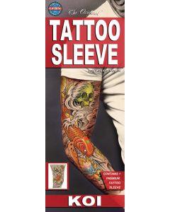 Tinsley Transfers KOI Fish Tattoo FX Sleeve, Small/Medium