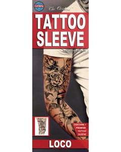 Tinsley Transfers Loco Tattoo FX Sleeve, Large/X-Large