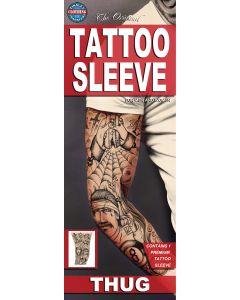 Tinsley Transfers Thug Tattoo FX Sleeve, Large/X-Large