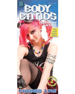 Tinsley Transfers Cuffed Chained Love Temporary Tattoo FX Kit
