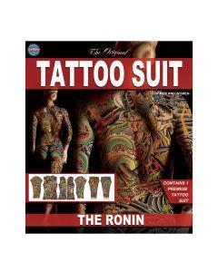 Tinsley Transfers The Ronin Tattoo FX Body Suit, Small/Medium