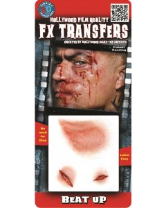 Tinsley Transfers Beat Up Hollywood Film Quality 3pc Makeup FX Transfers