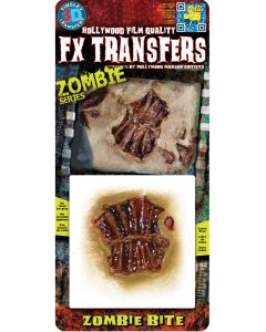 Tinsley Transfers Zombie Bite Makeup FX Transfers