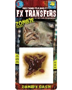 Tinsley Transfers Zombie Gash Makeup FX Transfers