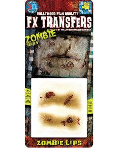 Tinsley Transfers Zombie Lips Makeup FX Transfers