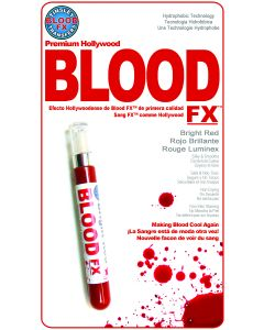 Tinsley Transfers Bright Red Hollywood Quality Hydrophobic Fake Blood FX, Red
