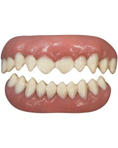 Tinsley Transfers Cannibal 2pc False Teeth FX, White Pink