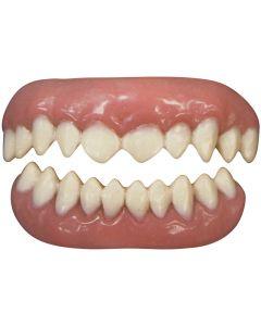 Tinsley Transfers Cannibal 2pc False Teeth FX, White Pink