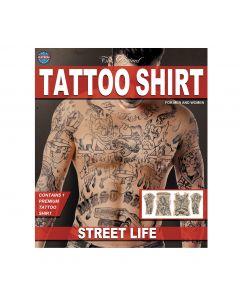 Tinsley Transfers Street Life Tattoo FX Shirt, Small/Medium
