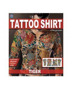 Tinsley Transfers Tiger Tattoo FX Shirt, Small/Medium