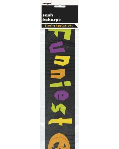 Unique Funniest Costume Award Halloween One-Size Award Ribbon, Black