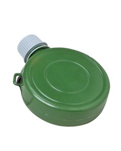 US Toy Military Army 6oz Plastic Canteen Costume Prop, Green Grey, 5""