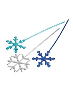 """Veil Entertainment Winter Ice Queen Snowflake Wand, 10""""x2.75"""""""
