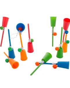 "US Toy Classic Ball and Cup Game Birthday 4"" Party Favor, Multi, 12 Pack"