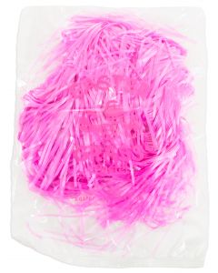 US Toy Pastel Spring Cellophane Easter Grass 1.75 OZ Gift Basket Fill, Pink