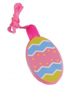 "US Toy Kids Spring Easter Egg Bubbles 24""L Necklace, Pink Blue Yellow"