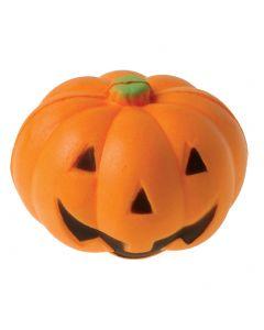 "Jack-O-Lantern Stress Ball Trick-or-Treat 2"" Non-Food Treats, Orange Black"
