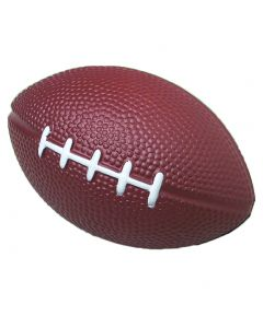 US Toy Soft Foam Safe Mini Football Tailgate 4in Party Favor, Brown