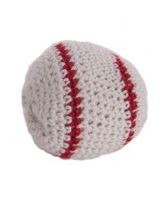 "Sports Ball Baseball Kickball Hacky Sack 1.75""diam Party Favor, Red White"