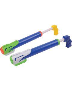 "US Toy Kid Fun Pump Action Soak Shooting Summer 18"" L Water Gun, Blue"