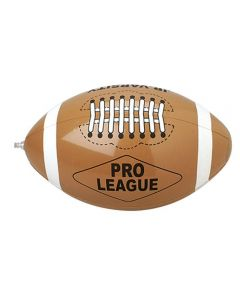 """US Toy Pro League Football 16"""" Diameter Inflatable Toys, Brown, 12 Pack"""