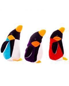 "Bean Bag Emporer Penguins Colored Coat Stocking Stuffer 5.5"" Plush Toy"