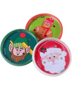 "US Toy Christmas Pill Puzzle Game Stocking Stuffer 2"" Party Favors, 6 Pack"