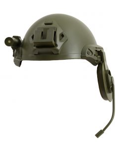 Military Police Helmet 3pc Costume Accessory Set, Green, One-Size