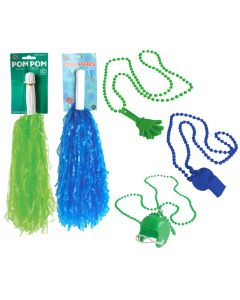 Seattle Seahawks Football Fan Decorating 5pc Party Pack, Green Blue