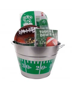 Outdoor NFL Super Bowl Football Tailgate Supplies 96pc 18 Person Party Pack