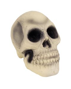 "Veil Entertainment Rubber Skull Halloween 7.5"" Table Decoration"