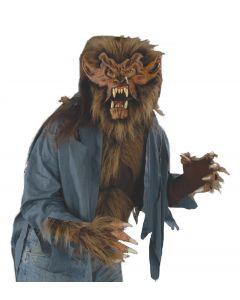 Zagone Wolf Top Shirt, Blue, One Size
