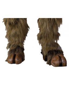 Zagone Beast Centaur Hoof Hearted Costume Feet, Brown, One Size