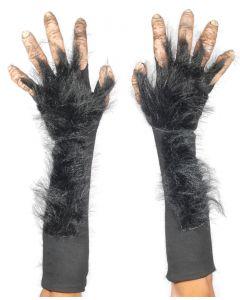 Zagone Super Action Chimp Hands Glove Hands, Black Beige, One Size