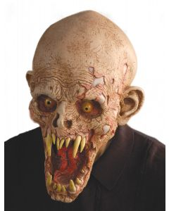 Zagone Schell Shocked Cracked Demon Full Head Mask, Multicolors, One Size